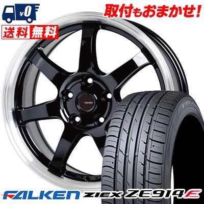 205/65R16 95H FALKEN ファルケン ZIEX ZE914F ジークス ZE914F G.speed P-03 ジースピード P-03 サマータイヤホイール4本セット