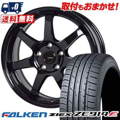 195/60R15 88H FALKEN ファルケン ZIEX ZE914F ジークス ZE914F G.speed G-03 Gスピード G-03 サマータイヤホイール4本セット