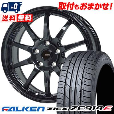 215/65R15 96H FALKEN ファルケン ZIEX ZE914F ジークス ZE914F G.speed G-04 Gスピード G-04 サマータイヤホイール4本セット