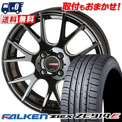 205/45R16 87W XL FALKEN ファルケン ZIEX ZE914F ジークス ZE914F CIRCLAR RM-7 サーキュラー RM-7 サマータイヤホイール4本セット