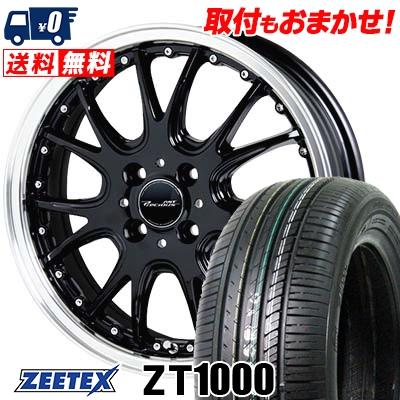 195/55R15 85V ZEETEX ジーテックス ZT1000 ZT1000 Precious AST M2 プレシャス アスト M2 サマータイヤホイール4本セット【取付対象】