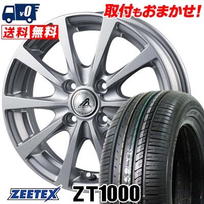 195/55R15 85V ZEETEX ジーテックス ZT1000 ZT1000 AZ SPORTS EX10 AZスポーツ EX10 サマータイヤホイール4本セット