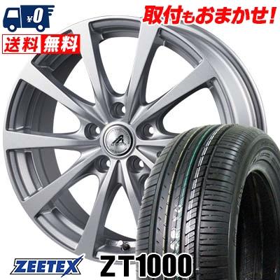195/65R15 91V ZEETEX ジーテックス ZT1000 ZT1000 AZ SPORTS EX10 AZスポーツ EX10 サマータイヤホイール4本セット