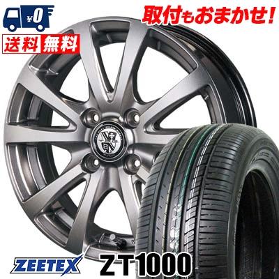 185/70R14 88H ZEETEX ジーテックス ZT1000 ZT1000 TRG-BAHN TRG バーン サマータイヤホイール4本セット