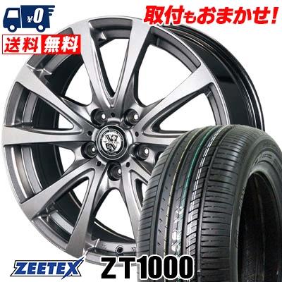 215/65R15 100V XL ZEETEX ジーテックス ZT1000 ZT1000 TRG-BAHN TRG バーン サマータイヤホイール4本セット