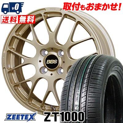 185/55R15 82V ZEETEX ジーテックス ZT1000 ZT1000 BBS RP BBS RP サマータイヤホイール4本セット