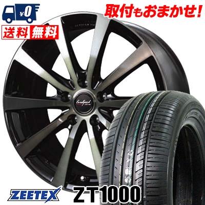 215/65R15 100V XL ZEETEX ジーテックス ZT1000 ZT1000 EuroSpeed BL10 ユーロスピード BL10 サマータイヤホイール4本セット