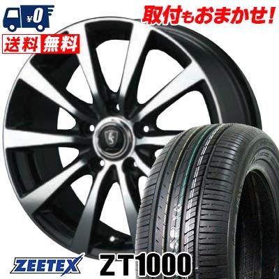 205/65R16 95V ZEETEX ジーテックス ZT1000 ZT1000 EuroSpeed BL10 ユーロスピード BL10 サマータイヤホイール4本セット