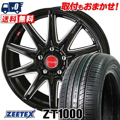 205/65R16 95V ZEETEX ジーテックス ZT1000 ZT1000 RIVAZZA CORSE リヴァッツァ コルセ サマータイヤホイール4本セット【取付対象】