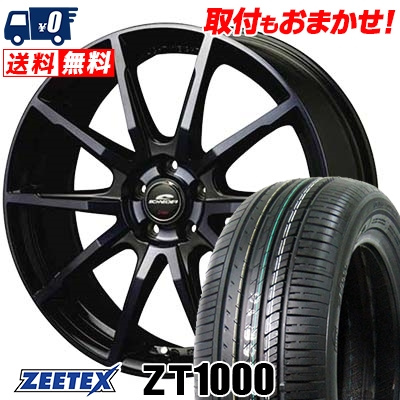 215/65R15 100V XL ZEETEX ジーテックス ZT1000 ZT1000 SCHNEIDER DR-01 シュナイダー DR-01 サマータイヤホイール4本セット