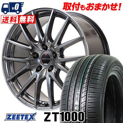 215/65R16 98V ZEETEX ジーテックス ZT1000 ZT1000 VERTEC ONE Eins.1 ヴァーテック ワン アインス ワン サマータイヤホイール4本セット