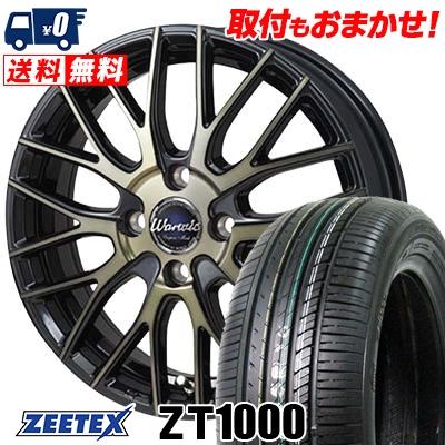 195/45R16 84V XL ZEETEX ジーテックス ZT1000 ZT1000 Warwic Empress Mesh ワーウィック エンプレスメッシュ サマータイヤホイール4本セット