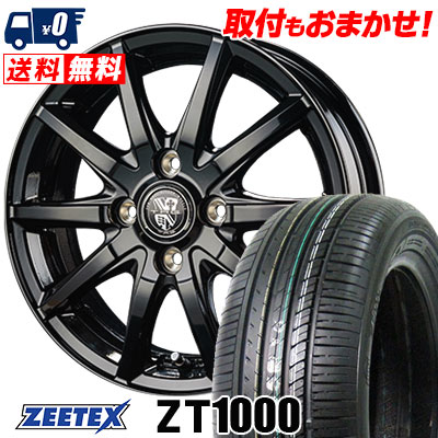 185/55R15 82V ZEETEX ジーテックス ZT1000 ZT1000 TRG-GB10 TRG GB10 サマータイヤホイール4本セット
