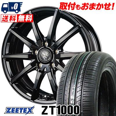 195/65R15 91V ZEETEX ジーテックス ZT1000 ZT1000 TRG-GB10 TRG GB10 サマータイヤホイール4本セット