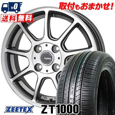 185/70R14 88H ZEETEX ジーテックス ZT1000 ZT1000 G.Speed P-01 Gスピード P-01 サマータイヤホイール4本セット