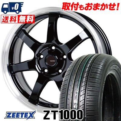 205/65R16 95V ZEETEX ジーテックス ZT1000 ZT1000 G.speed P-03 ジースピード P-03 サマータイヤホイール4本セット