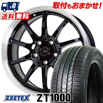 205/65R16 95V ZEETEX ジーテックス ZT1000 ZT1000 G.speed P-04 ジースピード P-04 サマータイヤホイール4本セット