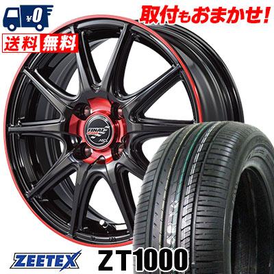 165/55R14 72V ZEETEX ジーテックス ZT1000 ZT1000 FINALSPEED GR-Volt ファイナルスピード GRボルト サマータイヤホイール4本セット