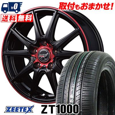 215/65R15 100V XL ZEETEX ジーテックス ZT1000 ZT1000 FINALSPEED GR-Volt ファイナルスピード GRボルト サマータイヤホイール4本セット