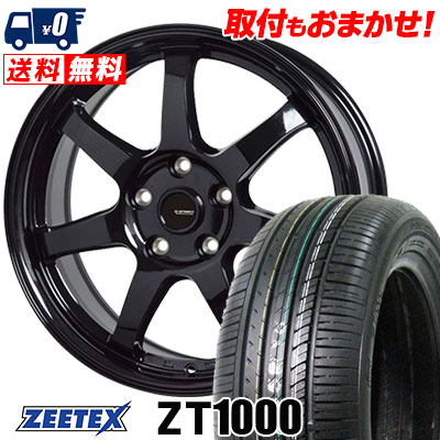 215/65R15 100V XL ZEETEX ジーテックス ZT1000 ZT1000 G.speed G-03 Gスピード G-03 サマータイヤホイール4本セット