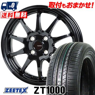185/70R14 88H ZEETEX ジーテックス ZT1000 ZT1000 G.speed G-04 Gスピード G-04 サマータイヤホイール4本セット