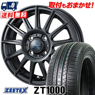 185/70R14 88H ZEETEX ジーテックス ZT1000 ZT1000 VELVA IGOR ヴェルヴァ イゴール サマータイヤホイール4本セット