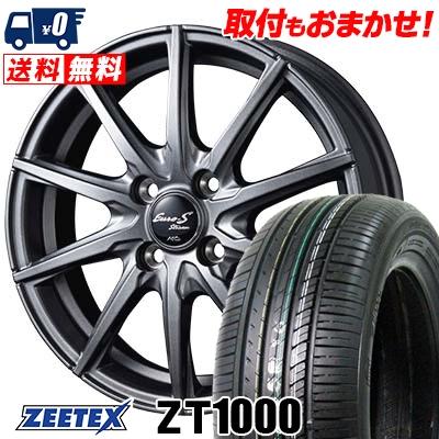 185/70R14 88H ZEETEX ジーテックス ZT1000 ZT1000 EuroStream JL10 ユーロストリーム JL10 サマータイヤホイール4本セット