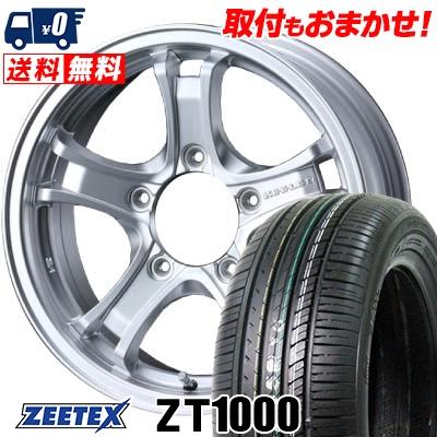 215/60R16 95V ZEETEX ジーテックス ZT1000 ZT1000 KEELER FORCE キーラーフォース サマータイヤホイール4本セット