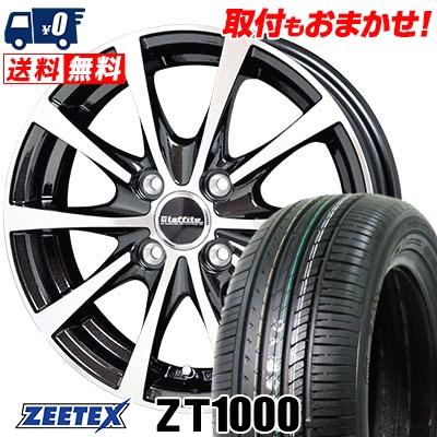 185/70R14 88H ZEETEX ジーテックス ZT1000 ZT1000 Laffite LE-03 ラフィット LE-03 サマータイヤホイール4本セット【取付対象】