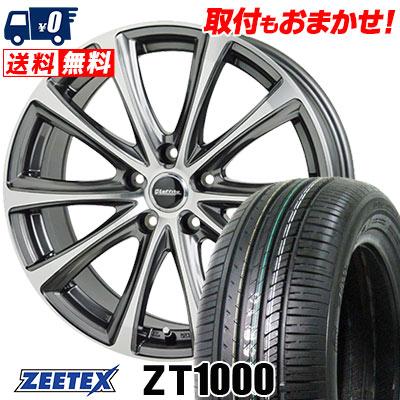 215/65R15 100V XL ZEETEX ジーテックス ZT1000 ZT1000 Laffite LE-04 ラフィット LE-04 サマータイヤホイール4本セット