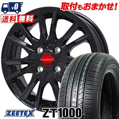 165/55R14 72V ZEETEX ジーテックス ZT1000 ZT1000 LeyBahn GBX レイバーン GBX サマータイヤホイール4本セット