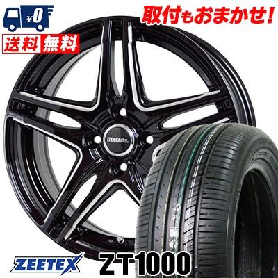 195/45R16 84V XL ZEETEX ジーテックス ZT1000 ZT1000 Laffite LW-04 ラフィット LW-04 サマータイヤホイール4本セット