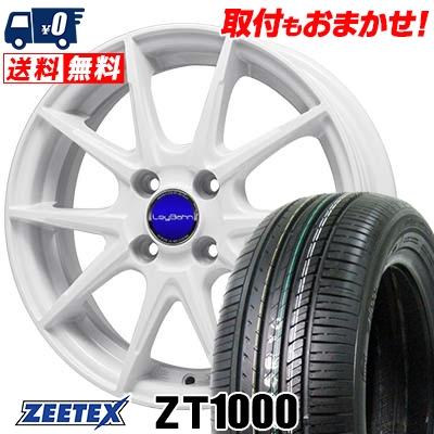 185/70R14 88H ZEETEX ジーテックス ZT1000 ZT1000 LeyBahn WGS レイバーン WGS サマータイヤホイール4本セット