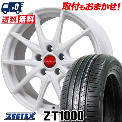 215/65R15 100V XL ZEETEX ジーテックス ZT1000 ZT1000 LeyBahn WGS レイバーン WGS サマータイヤホイール4本セット