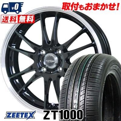 165/50R16 75V ZEETEX ジーテックス ZT1000 ZT1000 CROSS SPEED PREMIUM 6 Light クロススピード プレミアム 6 ライト サマータイヤホイール4本セット