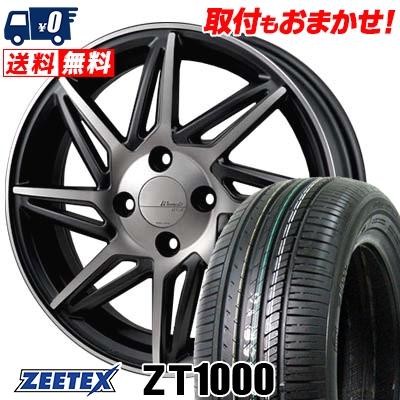 165/55R15 75V ZEETEX ジーテックス ZT1000 ZT1000 MONZA Warwic REVOX モンツァ ワーウィック レヴォックス サマータイヤホイール4本セット
