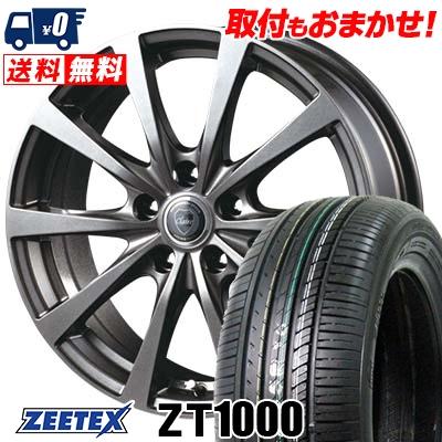 195/65R15 91V ZEETEX ジーテックス ZT1000 ZT1000 CLAIRE RG10 クレール RG10 サマータイヤホイール4本セット