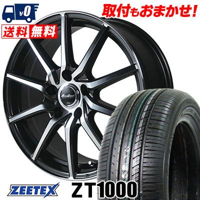 205/55R16 91V ZEETEX ジーテックス ZT1000 ZT1000 EuroSpeed S810 ユーロスピード S810 サマータイヤホイール4本セット