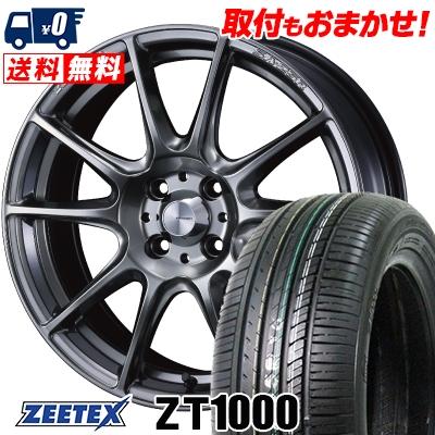 165/50R16 75V ZEETEX ジーテックス ZT1000 ZT1000 WedsSport SA-25R ウェッズスポーツ SA-25R サマータイヤホイール4本セット