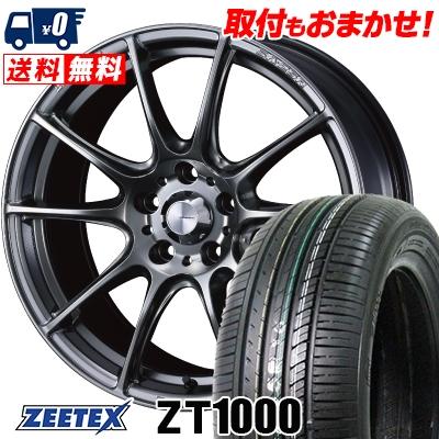 215/60R16 95V ZEETEX ジーテックス ZT1000 ZT1000 WedsSport SA-25R ウェッズスポーツ SA-25R サマータイヤホイール4本セット