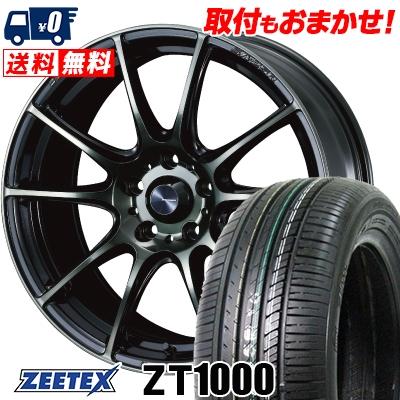 215/65R16 98V ZEETEX ジーテックス ZT1000 ZT1000 WedsSport SA-25R ウェッズスポーツ SA-25R サマータイヤホイール4本セット