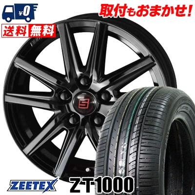 215/65R16 98V ZEETEX ジーテックス ZT1000 ZT1000 SEIN SS BLACK EDITION ザイン エスエス ブラックエディション サマータイヤホイール4本セット