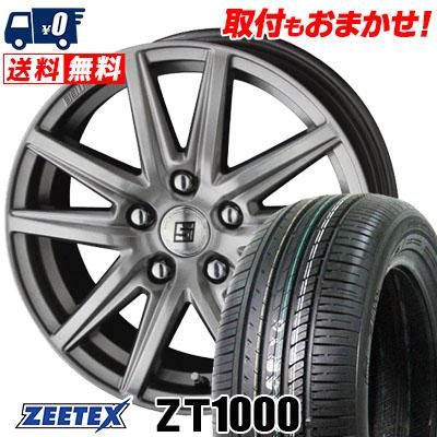 215/65R15 100V XL ZEETEX ジーテックス ZT1000 ZT1000 SEIN SS ザイン エスエス サマータイヤホイール4本セット