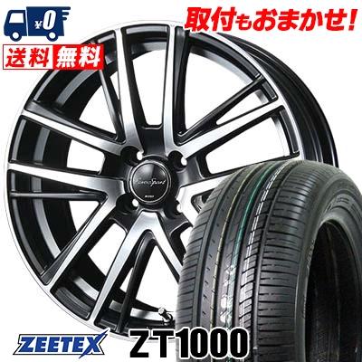 165/40R16 73V XL ZEETEX ジーテックス ZT1000 ZT1000 EouroSport Shandry SE ユーロスポーツ シャンドリーSE サマータイヤホイール4本セット