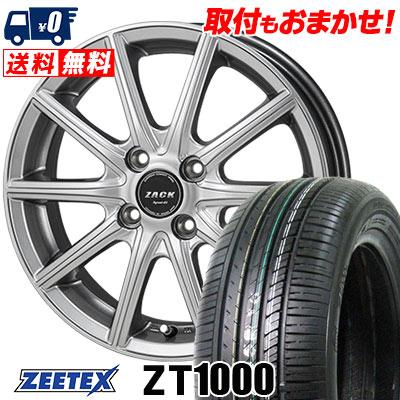 165/50R15 73V ZEETEX ジーテックス ZT1000 ZT1000 ZACK SPORT-01 ザック シュポルト01 サマータイヤホイール4本セット