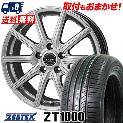215/65R15 100V XL ZEETEX ジーテックス ZT1000 ZT1000 ZACK SPORT-01 ザック シュポルト01 サマータイヤホイール4本セット