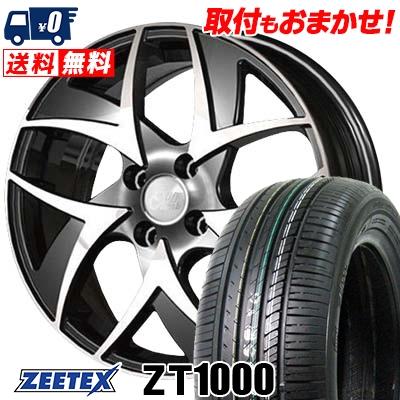 165/50R15 73V ZEETEX ジーテックス ZT1000 ZT1000 CliffClimb TC-05 クリフクライム TC-05 サマータイヤホイール4本セット