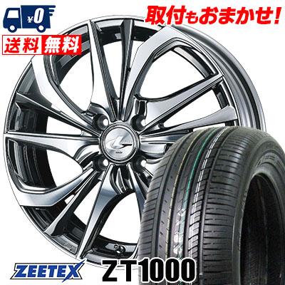 195/45R16 84V XL ZEETEX ジーテックス ZT1000 ZT1000 weds LEONIS TE ウェッズ レオニス TE サマータイヤホイール4本セット