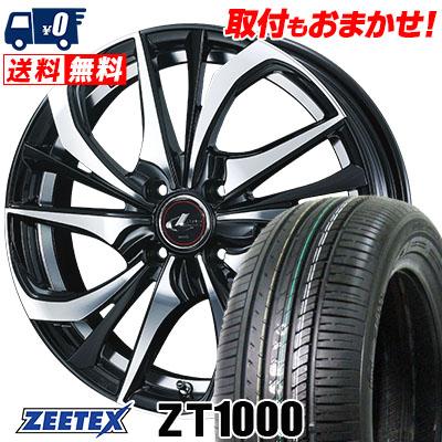 165/40R16 73V XL ZEETEX ジーテックス ZT1000 ZT1000 weds LEONIS TE ウェッズ レオニス TE サマータイヤホイール4本セット