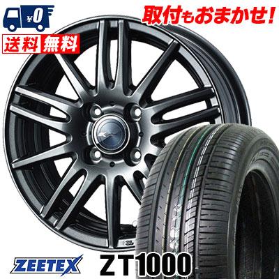 165/55R14 72V ZEETEX ジーテックス ZT1000 ZT1000 Zamik Tito ザミック ティート サマータイヤホイール4本セット